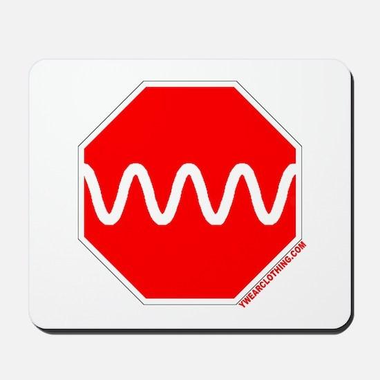 Stop Sine Mousepad