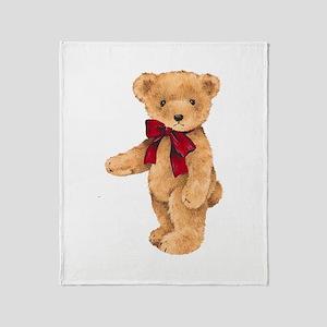 Teddy - My First Love Throw Blanket