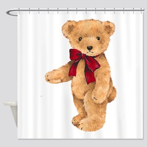 Teddy - My First Love Shower Curtain