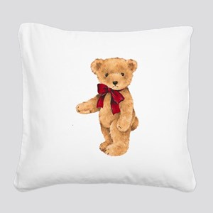 Teddy - My First Love Square Canvas Pillow