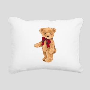 Teddy - My First Love Rectangular Canvas Pillow
