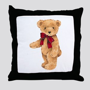 Teddy - My First Love Throw Pillow