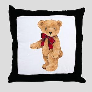 Teddy - My First Love Throw Pillow