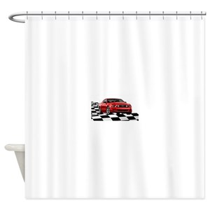 Ford Mustang Gt Shower Curtains