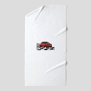2014RRMustangGT Beach Towel
