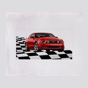 2014RRMustangGT Throw Blanket