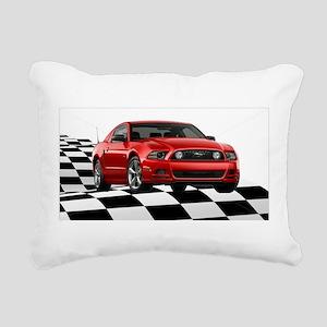 2014RRMustangGT Rectangular Canvas Pillow