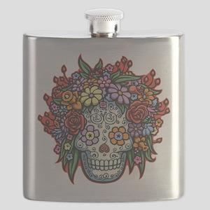 Mujere Muerta II Flask
