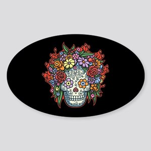 Mujere Muerta II Sticker (Oval)