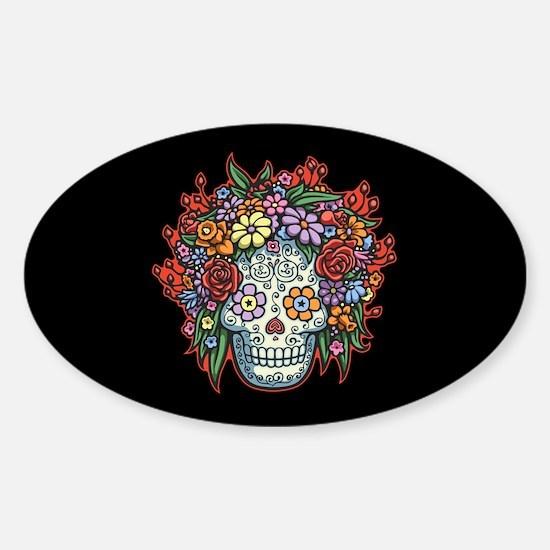 Mujere Muerta II Sticker (Oval)