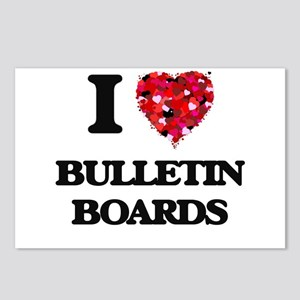 I Love Bulletin Boards Postcards (Package of 8)