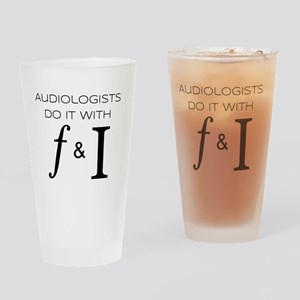 Frequency & Intensity Drinking Glass