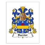 Barrier Family Crest Small Poster
