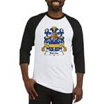 Barrier Family Crest Baseball Jersey