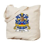 Barrier Family Crest Tote Bag