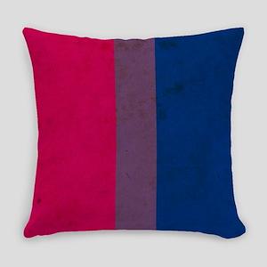 Vintage Bisexual Pride Everyday Pillow