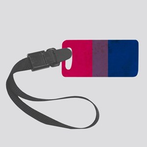 Vintage Bisexual Pride Small Luggage Tag