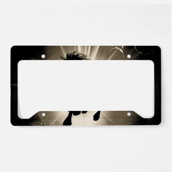 Horse silhouette License Plate Holder