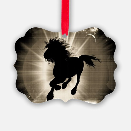 Horse silhouette Ornament