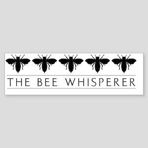The Bee Whisperer Bumper Sticker
