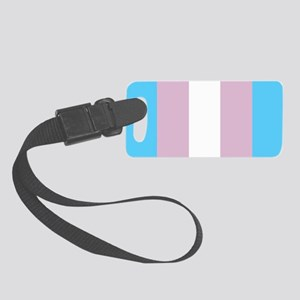 Transgender Pride Flag Small Luggage Tag