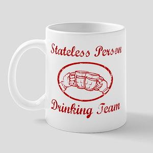 Stateless Person Drinking Tea Mug