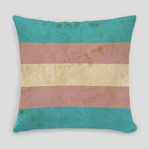 Vintage Transgender Pride Everyday Pillow