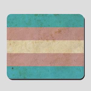 Vintage Transgender Pride Mousepad