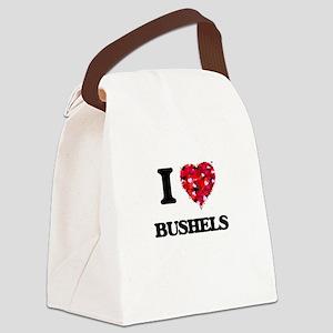 I Love Bushels Canvas Lunch Bag