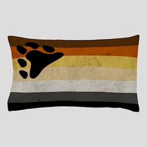Vintage Bear Pride Flag Pillow Case