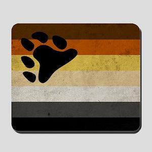 Vintage Bear Pride Flag Mousepad