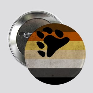 "Vintage Bear Pride Flag 2.25"" Button"