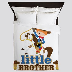 Cowboy Little Brother Queen Duvet