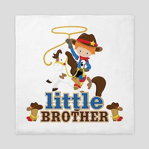 Cowboy Little Brother Queen Duvet