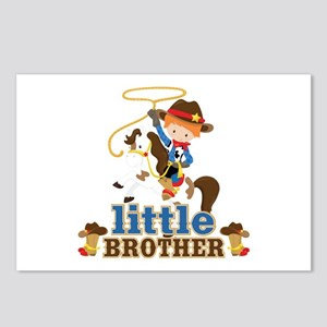 Cowboy Little Brother Postcards (Package of 8)