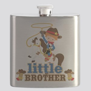 Cowboy Little Brother Flask