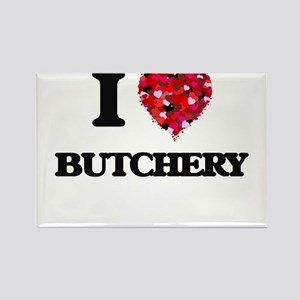 I Love Butchery Magnets