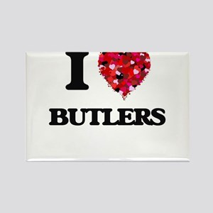 I Love Butlers Magnets