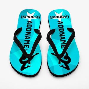 Sparkling Gymnast Flip Flops