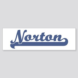 Norton (sport-blue) Bumper Sticker