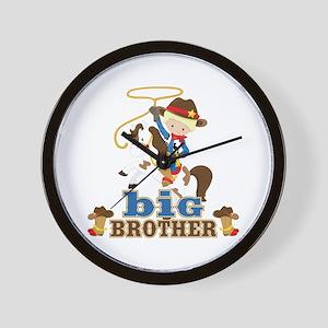 Cowboy Big Brother Wall Clock