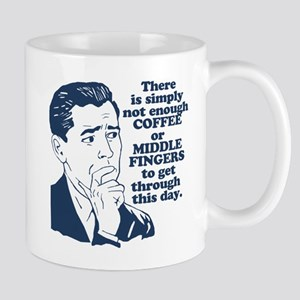 Coffee And The Middle Finger Mug