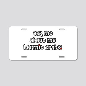 askme Aluminum License Plate