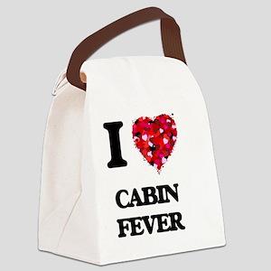 I love Cabin Fever Canvas Lunch Bag