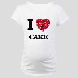 I love Cake Maternity T-Shirt