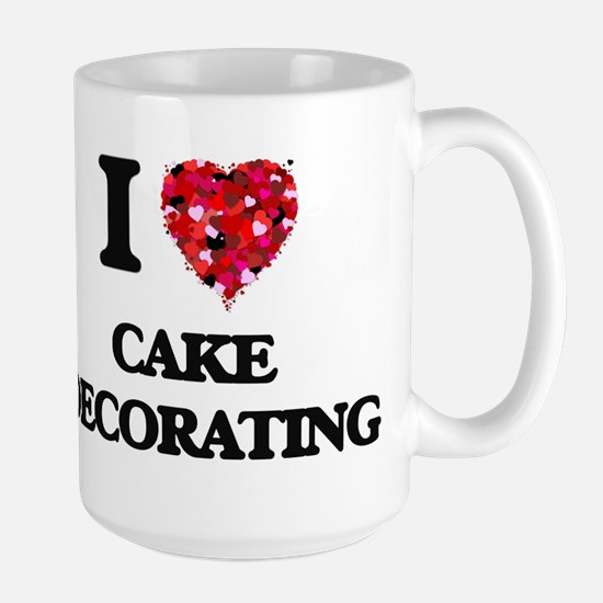 I love Cake Decorating Mugs
