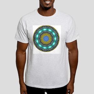 Blue and Gold Mandala T-Shirt