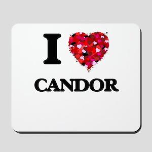 I love Candor Mousepad