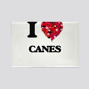 I love Canes Magnets