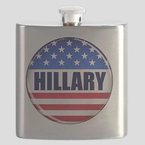 Vote Hillary 2016 Flask